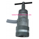 Poppet 3/8 inch Female - SAFETY hydraulic Pressure Release Tool - use with ISO-B 3/8 inch male coupling